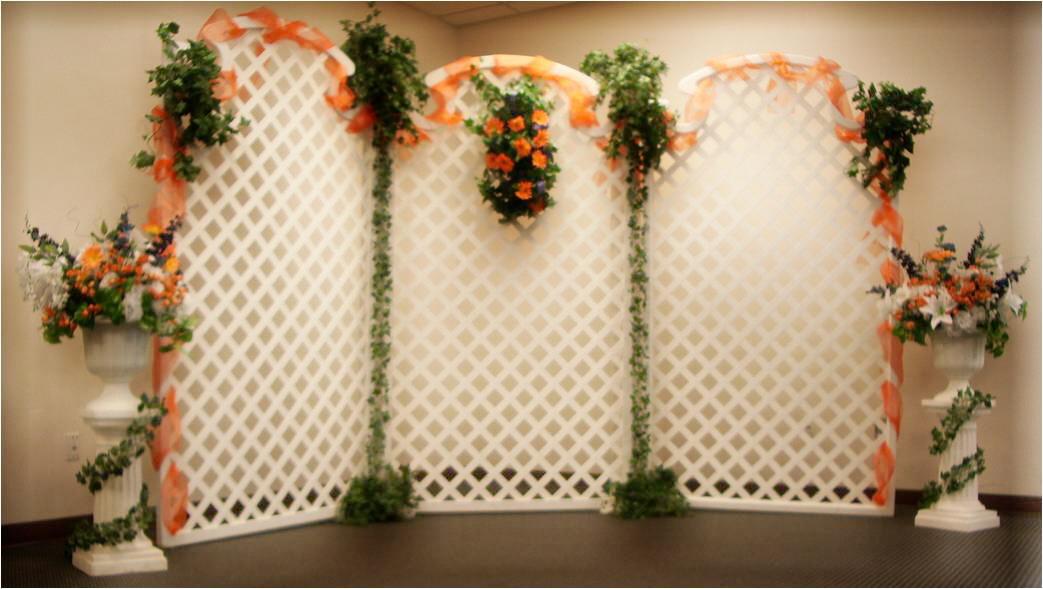 Wedding Lattice Backdrops