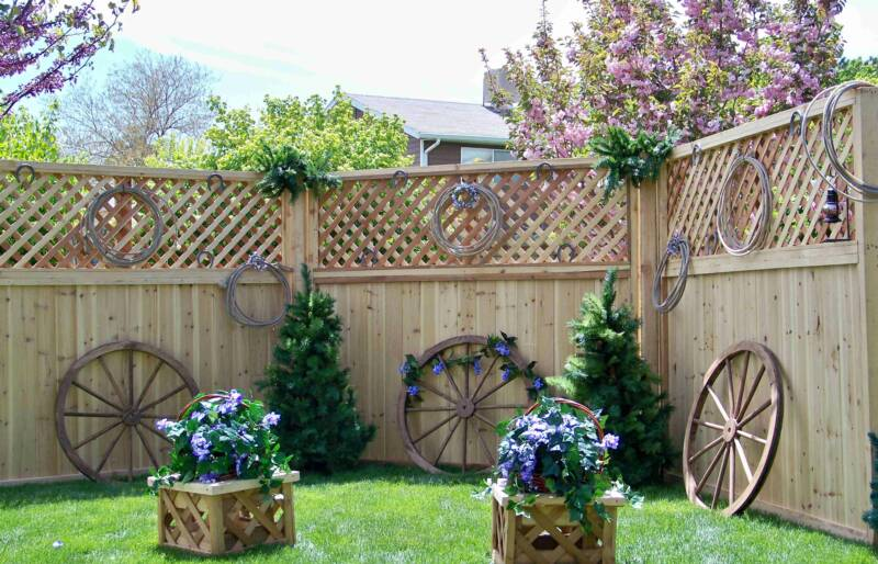 Wedding Backdrop Western wagon wheels ropes and more Western Backdrop